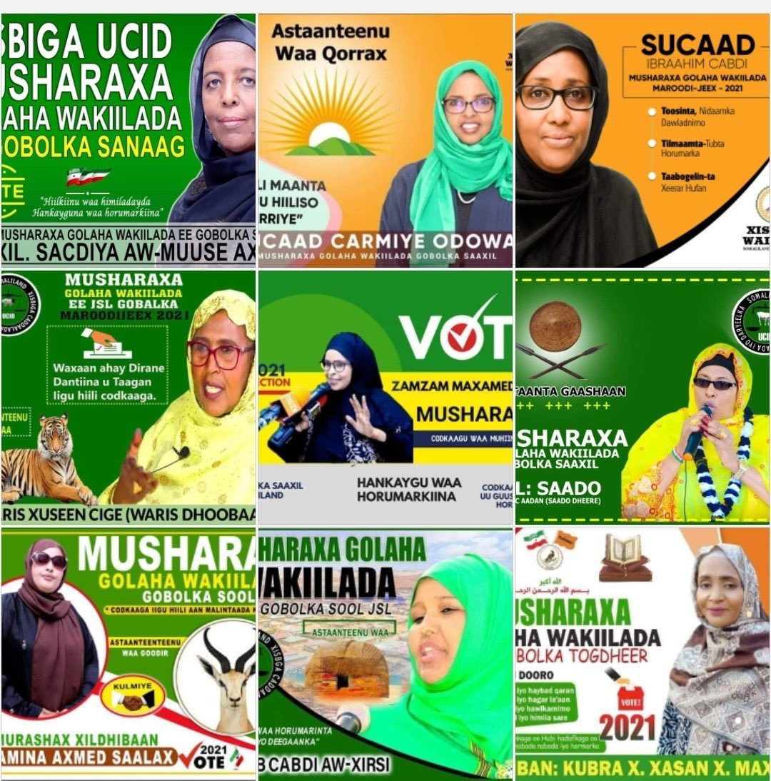 Best wishes and good luck tomorrow to all the incredible women of Somaliland who are running for parliament! They  deserve to be given a chance! Regardless of the results tomorrow: Together we shall finish what you started! The March is on to weed out outdated patriarchal ideas! https://t.co/TIrHqzaGr6