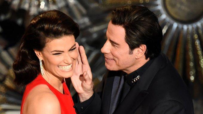 Wishing Adele Dazeem a very happy birthday from John Travolta