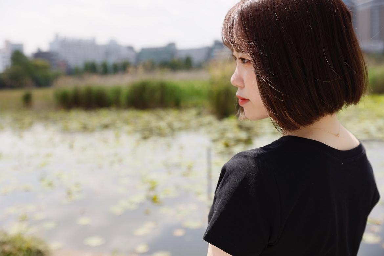 画像,*******🍀***池をながめる横顔model 朝日りん(@wish_rin_)***🍀*******#上野でお散歩デート#フィッチ女優ポートレートシリーズ …