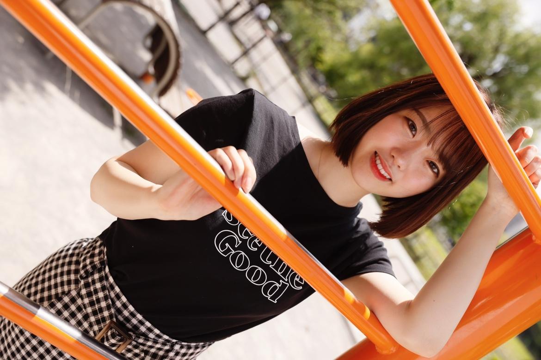 画像,*******🍀***ちょっとしたアスレチックでmodel 朝日りん(@wish_rin_)***🍀*******#上野でお散歩デート#フィッチ女優ポートレート…