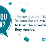 Image for the Tweet beginning: Did you know... 💌📫  #advertisingmail #millennials