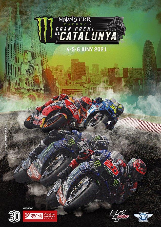 MotoGP Catalunya 2021 akhir pekan ini
