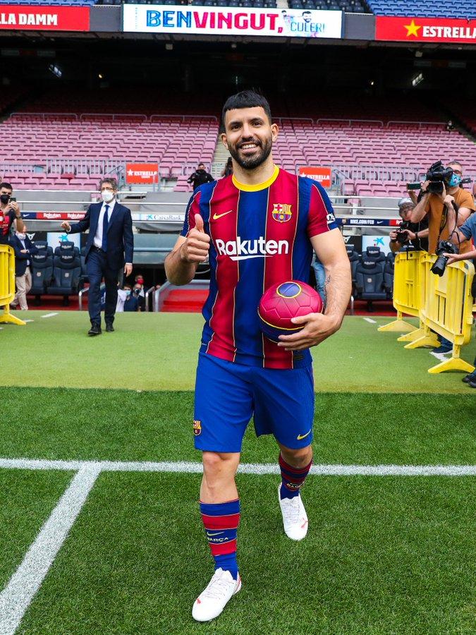 Sergio Aguero resmi ke Barcelona