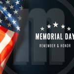 Image for the Tweet beginning: Today, we honor our fallen
