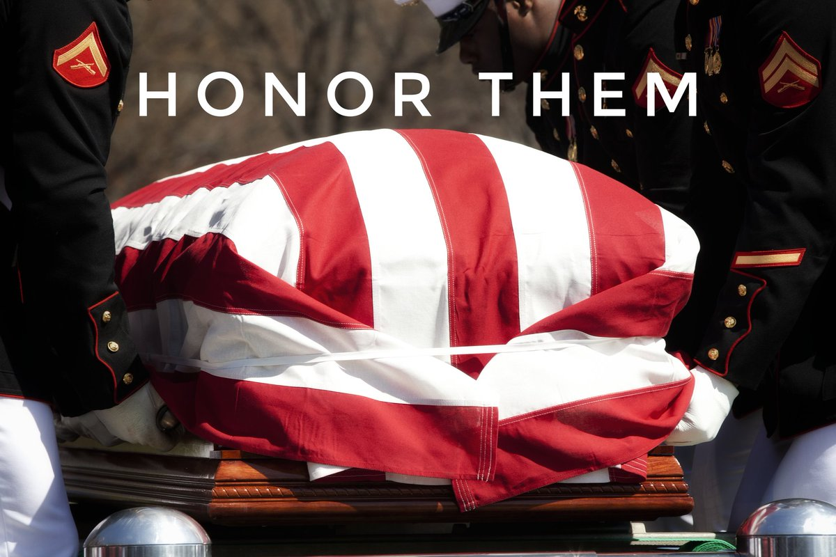 This #MemorialDay, and every day, we #HonorThem.  #MemorialDay2021 https://t.co/LK10YQUyGM