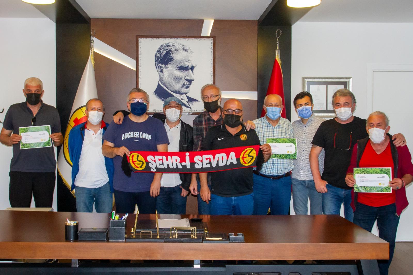 Eskişehirspor için rekor bağış