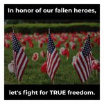 Image for the Tweet beginning: As we remember our heroes,