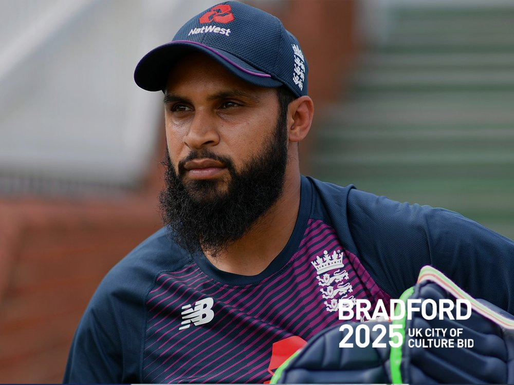 """RT @bradford2025: """"When people come together to play sport, or watch it, that shared experience is amazing and it stays with you. It's the same with cultural events and I am one 100% behind the team, proud to put my name to #Bradford2025""""   Adil Rashid, Cricketer for @YorkshireCCC @englandcricket"""