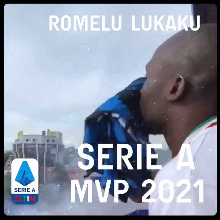 36 games played.  24 goals scored.  11 goals assisted.  One @SerieA MVP.   Congratulations @RomeluLukaku9  on an incredible and historic title-winning season. We're honoured to be a part of the journey with you! 🏆 https://t.co/7cu8WDlcYA