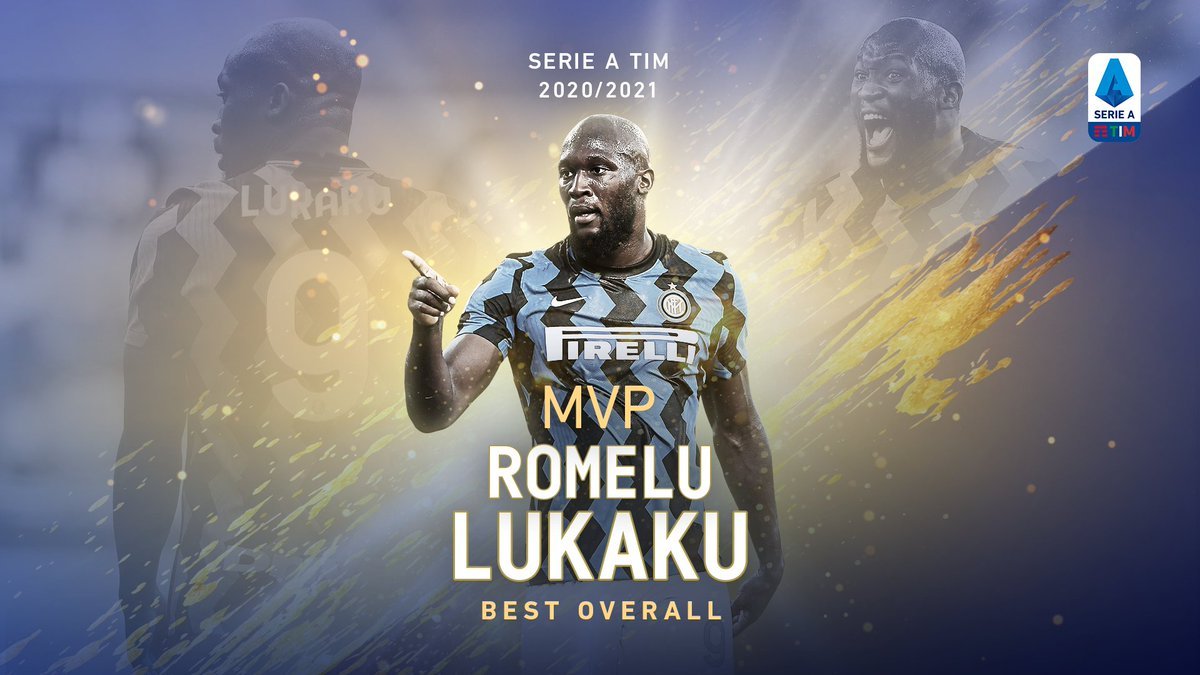 🌟MVP 2020/2021🌟 Best overall: @RomeluLukaku9! 🔝  Athletic supremacy, excellent technique and a leader's mindset. His numbers are just fantastic: 24 goals e 11 assists!  https://t.co/31MnrlkNE5    #SerieATIM #WeAreCalcio https://t.co/uczE4MXxeU