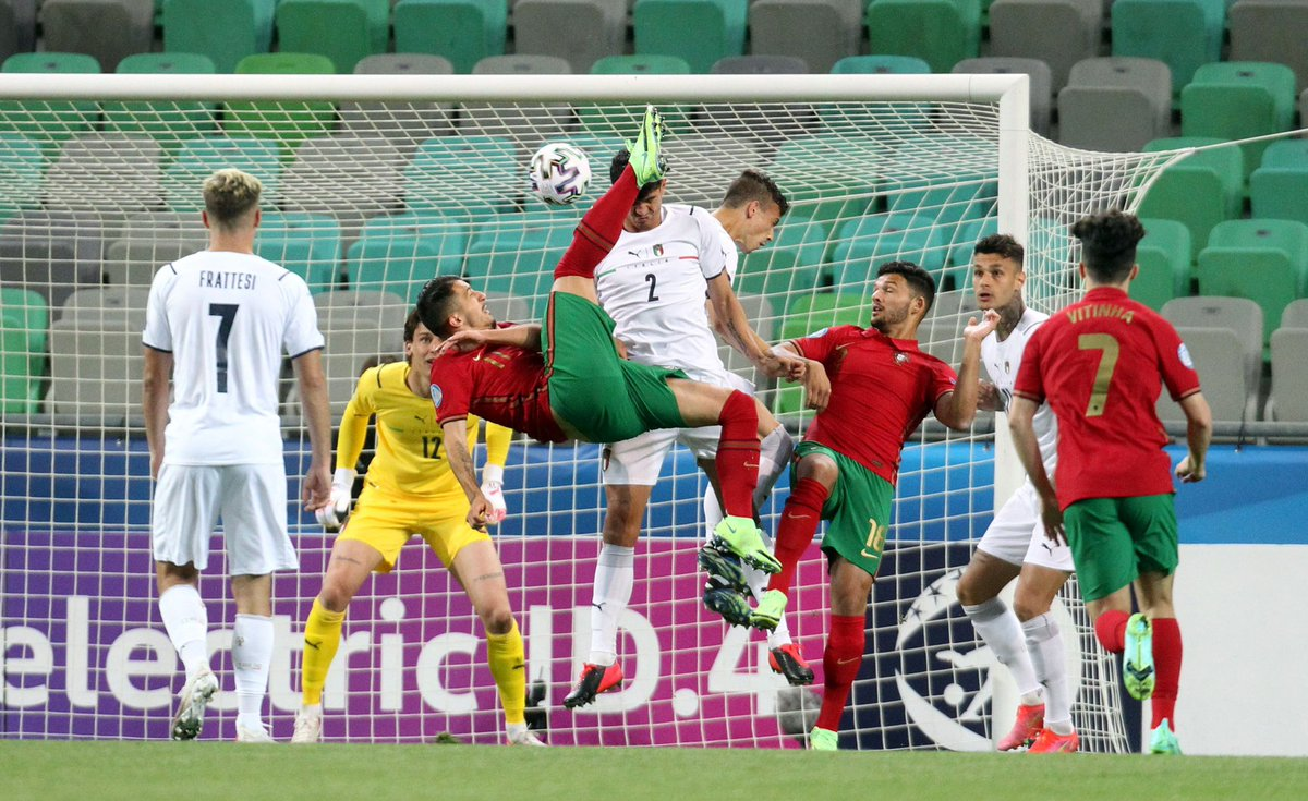 ไฮไลท์ฟุตบอล ชิงแชมป์ยุโรป U21 โปรตุเกส - อิตาลี