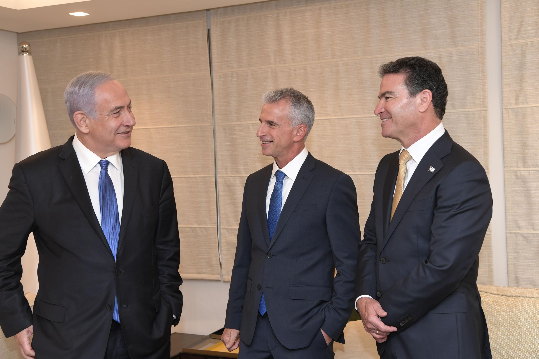 """ראש ממשלת ישראל on Twitter: """"מדברי ראש הממשלה בנימין נתניהו: """"אמרתי לך יוסי, שהמשימה העליונה שלך היא לבלום ולעכב בכל דרך את הדהירה של איראן לפצצה גרעינית. אני דחפתי מצידי ואתה דחפת"""