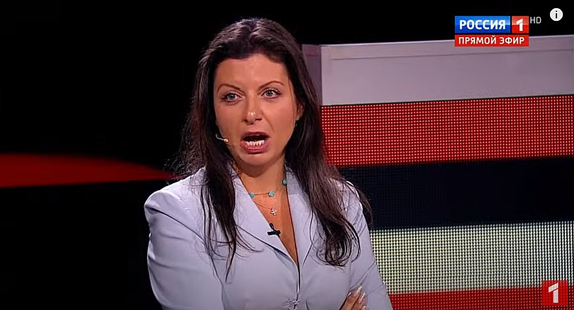 """RT's Margarita Simonyan: """"Bastards like that [opposition activist] or like #Protasevich should be taken off planes, or—like our boss [Putin] said—wiped out in the outhouse. No big deal... I'm all for that."""" https://t.co/ZiQwn4PHa0"""