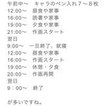 漫画家、高橋留美子先生の1日のスケジュールが公開、睡眠時間がなんと・・・