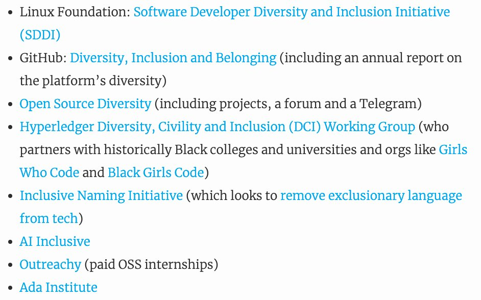 test Twitter Media - Excellent piece on #diversity in #opensource, countering some myths and providing good starting points for what should be done differently   ... https://t.co/fc1Fvc8Vsh https://t.co/cWYdJ2TKNe