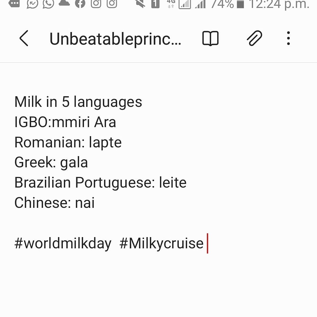 RT @UnbeatablePrin4: #WorldMilkDay #TheMilkClub @danomilk_ng https://t.co/JirEFff8TU