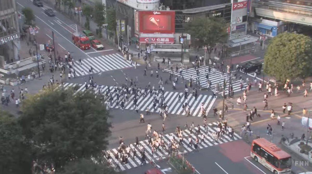 カメラ ライブ 渋谷 交差点 スクランブル 渋谷駅前で事故!京王バスが人を轢いた?バスも大幅遅延!現場の状況は?ツイッター速報