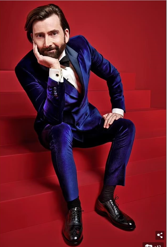 David Tennant for the BAFTA award ceremony