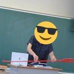 クラス企画で指し棒をロンギヌスの槍に改造!先生が槍を使って授業を始めたw