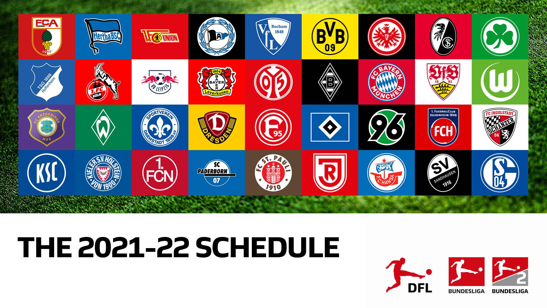 Uzivatel Dfl Deutsche Fussball Liga Na Twitteru The Fixtures Of The 2021 22 Bundesliga And Bundesliga 2 Seasons Will Be Announced On June 25 Https T Co U7vmxftx1n Twitter