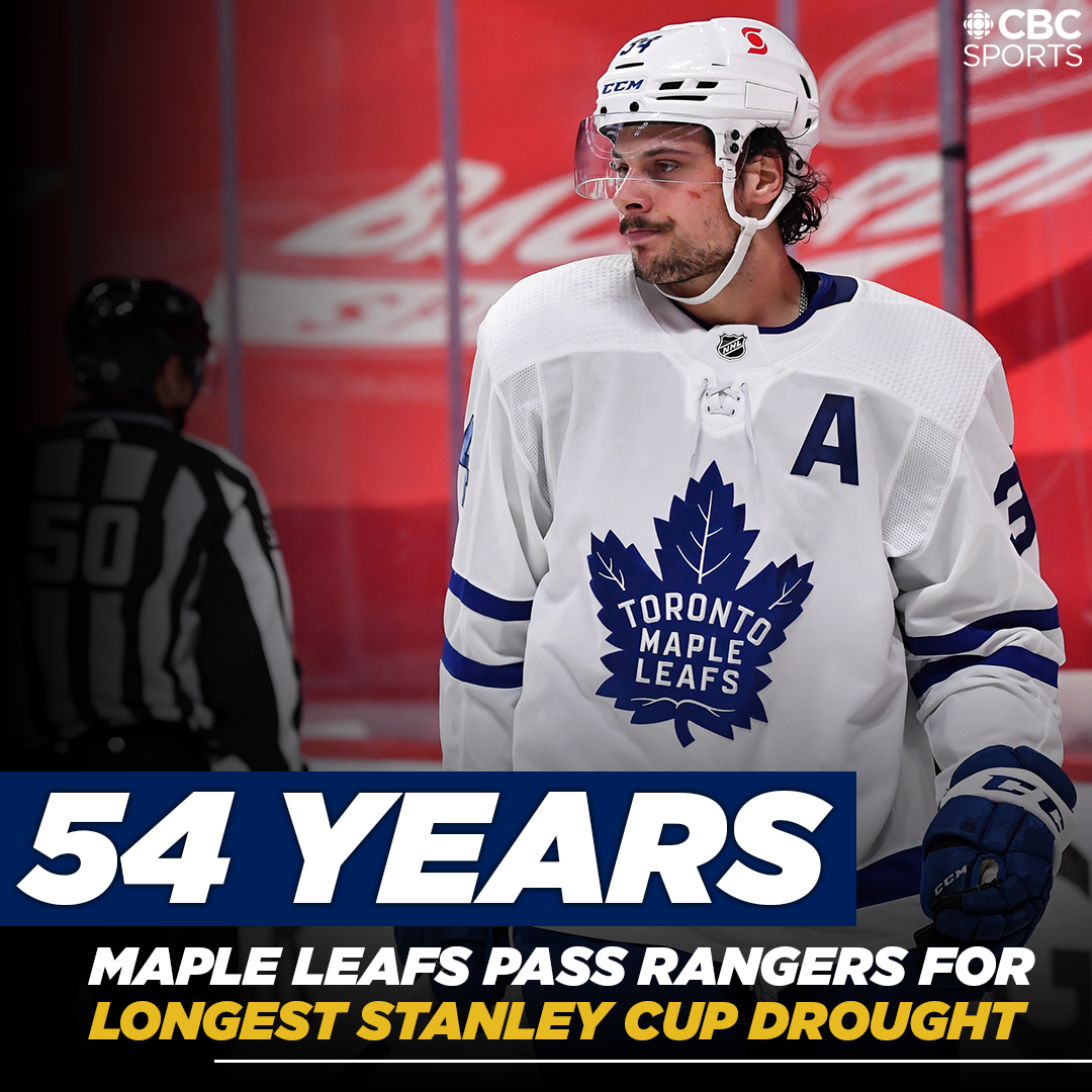 Love this. Though if the #Leafs ever do win the Cup, I shudder to think about the next team in line for consecutive years without winning it all…. @Canucks