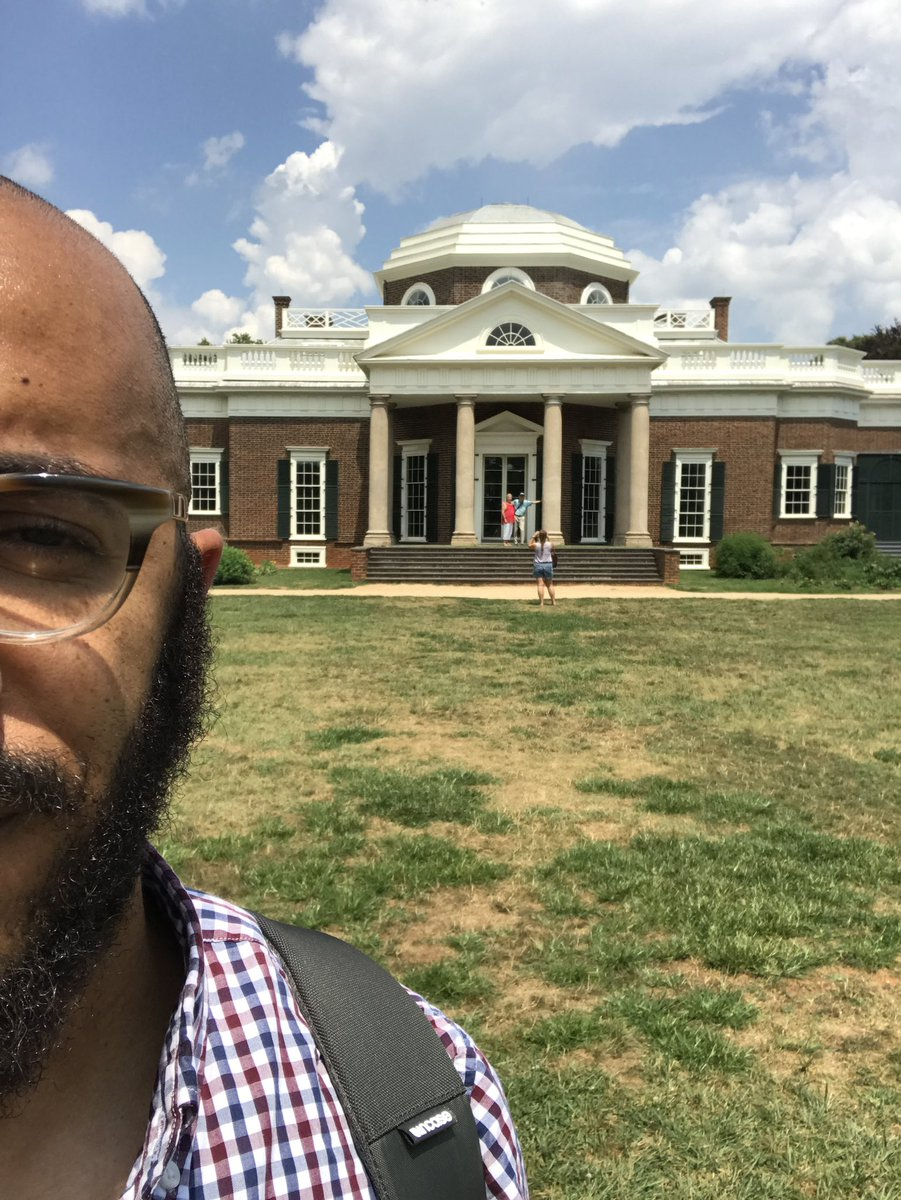 I traveled to Monticello, the home of Thomas Jefferson, trying to explore how a place remembers a man who both wrote one of the most important documents in the history of the western world, and who also enslaved over 600 people during his life including four of his own children.