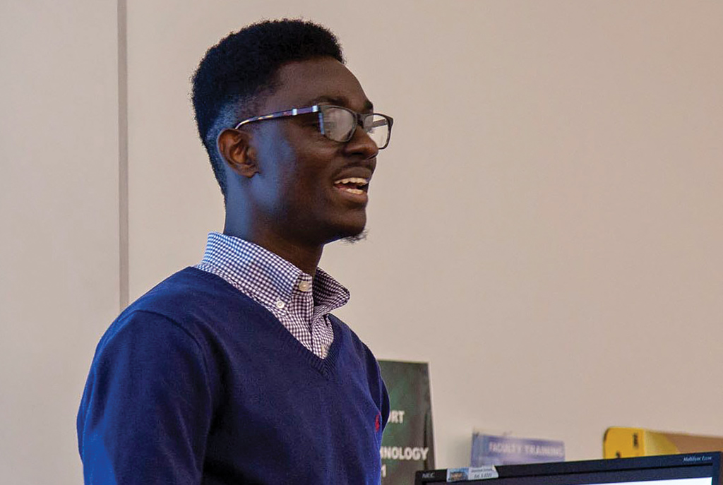 test Twitter Media - From living on the streets of Ghana to running a nonprofit for disadvantaged students, Ferdinand Quayson '20 is focused on helping other young entrepreneurs succeed.  https://t.co/w5uVK8jB8f https://t.co/56HlKBTVDq