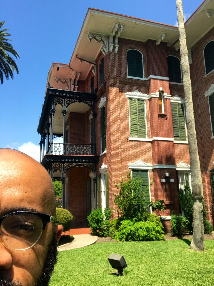 """I traveled to Galveston, TX for Juneteenth and spent time in this building, Ashton Villa, with the people who work to keep the memory of Juneteenth alive on the island where in 1865 Union General Granger issued General Order No. 3 which proclaimed in Texas """"all slaves are free"""""""