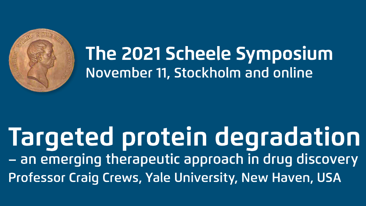 Registration is open! Secure your spot on this top class meeting on targeted protein degradation. Listen to and network with the 2021 Scheele Award laureate Prof.@CraigMCrews and some of the worlds foremost researchers in the emerging field of TPD.#svmed https://t.co/yVKSQ7Hy1Y https://t.co/9k8UC1Tior