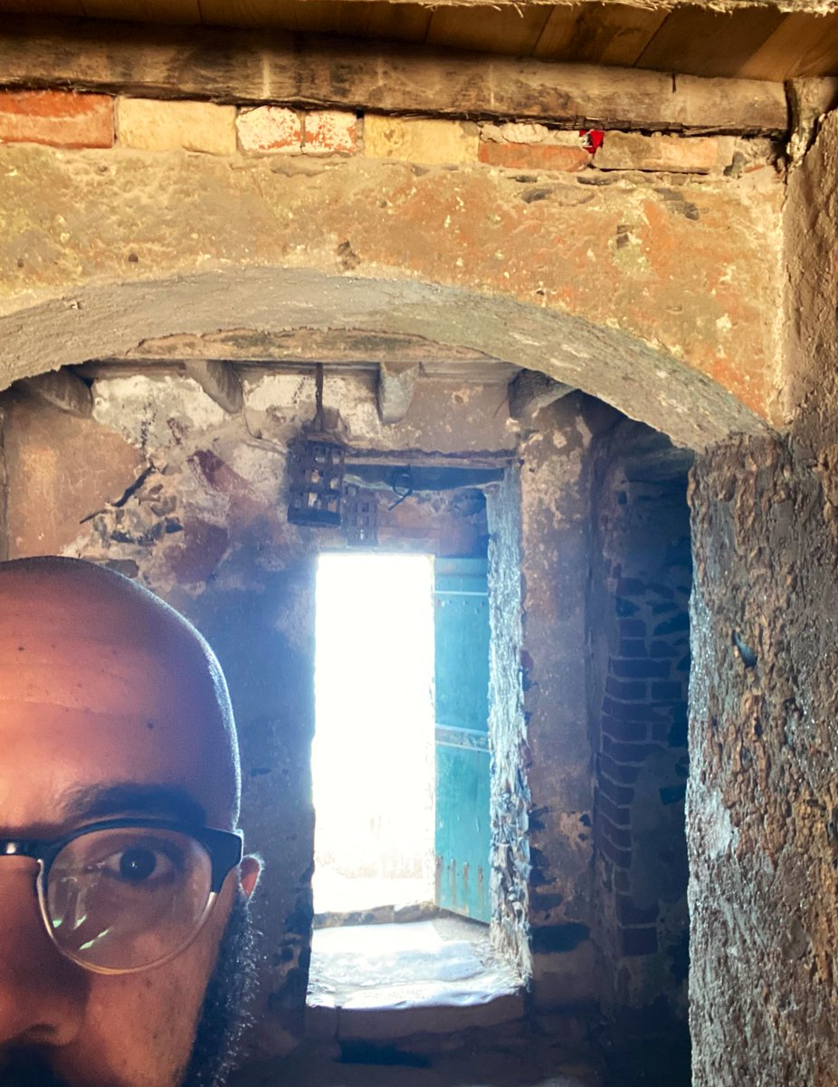 I also traveled abroad to Dakar, Senegal in an effort to explore how slavery was taught and remembered in Western Africa. I visited the famous House of Slaves at Gorée Island to explore how a single door in a single home became one of the primary symbols of the slave trade.