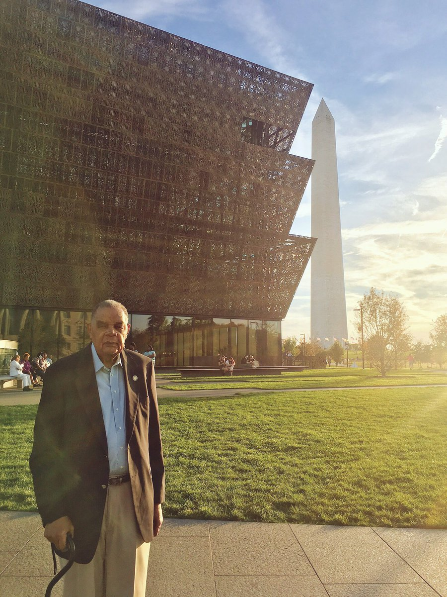 And I traveled to the National Museum of African American History and Culture with my grandparents. Walking through a museum that documents so much of the violence and history they experienced first-hand. Interviewing them and getting insights into their lives I had never known.