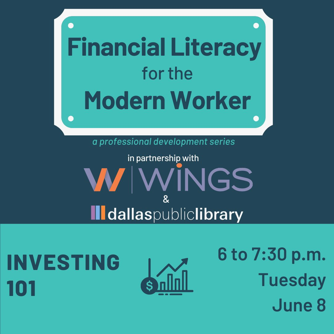 test Twitter Media - We are so excited to be bringing you Investing 101 with our amazing long-time partner, @dallaslibrary! Join us Tuesday, June 8th from 6-7:30PM. Register at https://t.co/KIboRExc2k https://t.co/RWakAHMKyD