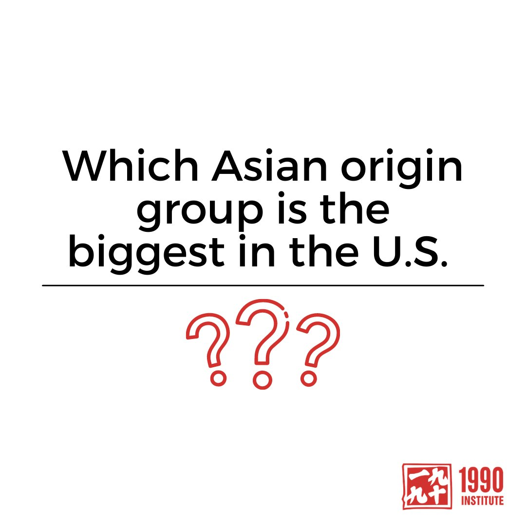 """""""Chinese Americans are the largest Asian origin group in the U.S., making up 23% of the Asian population, or 5.4 million people."""" – Pew Research Center  The second largest group is Indian Americans, who account for 20%, and Filipinos, who account for 18%❗️ https://t.co/CbdG1x813E"""