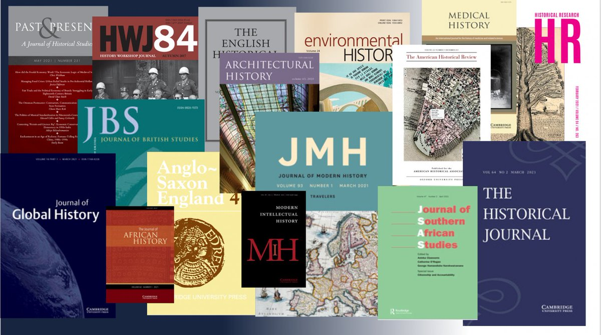 Looking to publish your first article? Join us for 'Getting Published - an #ECR guide to #History journals': 2PM Weds 21 July https://t.co/RCKrz6kz5z  Bringing together editors, publishing experts & recent authors for an intro to all things publishing #twitterstorians https://t.co/bDJS17twIu