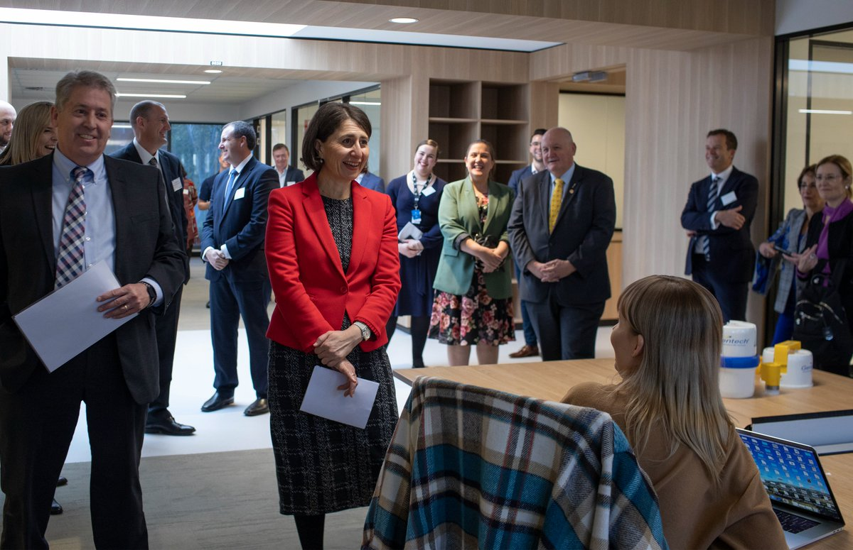 Today I joined @GladysB and colleagues for the official opening of the new #nandin #innovation centre. It will support the growing number of startups working with graduates and researchers at the @ANSTO Innovation Precinct at Lucas Heights.  #ANSTOInnovation