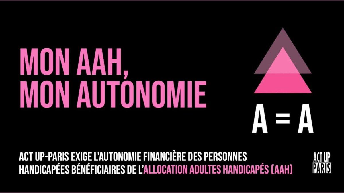 🔺 #AAH17juin - Nous avons l'autorisation de la préfecture de nous rassembler sur la place à côté de l'Assemblée Nationale le matin du vote : RASSEMBLONS-nous une nouvelle fois ce jeudi 17 juin à 8h30 pour exiger la désolidarisation du calcul de l'#AAH des revenus du conjointE ! https://t.co/ThtoLme1iE