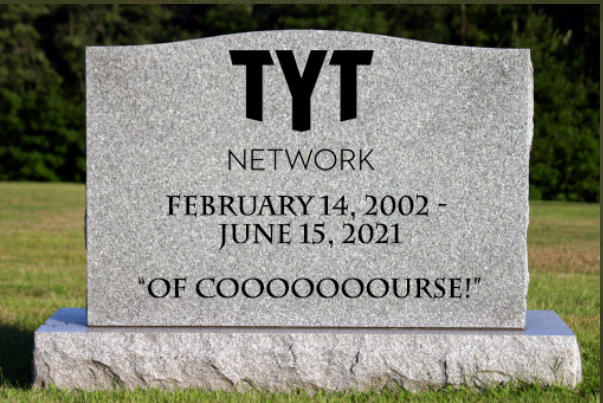 I witnessed a massacre tonight.  RIP Cenk, Ana, and the whole TYT network https://t.co/7S8HyPJMdA