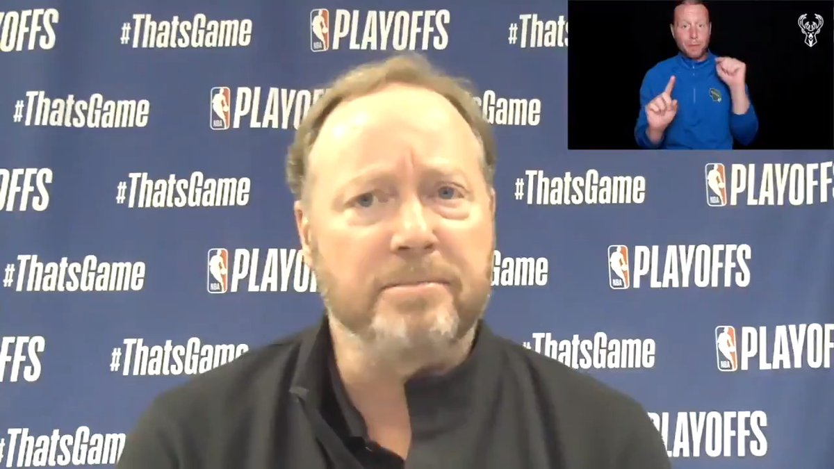 """""""We can always get better.""""  Coach Bud's ASL Postgame Press Conference: https://t.co/S3ggm1FaNj"""