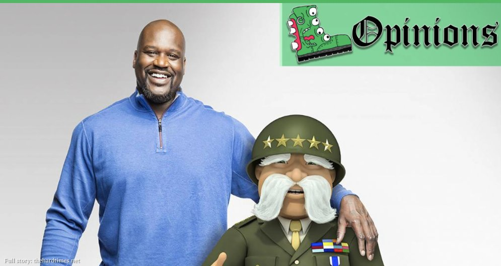 RT @REALpunknews: Shaq May Forgive the General for His War Crimes, but We Never Can https://t.co/Zn8fvPKVnA https://t.co/CJ9DANnFiK