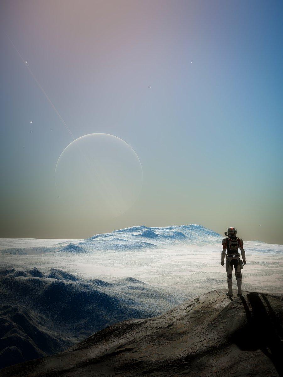 RT @CmdrVex: Distant Giants (portrait) #EliteDangerous #EliteDangerousOdyssey #StellarScreenshots https://t.co/z4bdRz9PGj