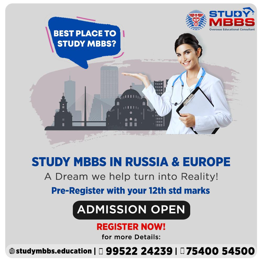 Study MBBS in Abroad 2021 with the lowest price and Standard Universities  #studymbbs #studyabroad #studymedicine #abroadstudy #Studymbbsrussia #studymbbsukraine #studymbbscanada #studymbbsmalaysia https://t.co/3NTNvYWcfc