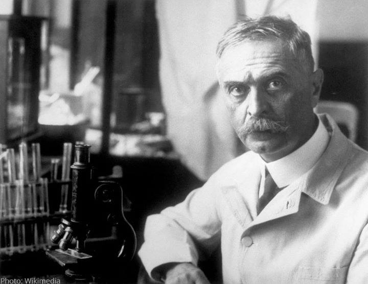 #NobelPrize laureate Karl Landsteiner discovered and classified ABO human blood groups, which made safe blood transfusions possible. His discovery continues to save countless lives every day.  #WorldBloodDonorDay https://t.co/t1bfys3NcE