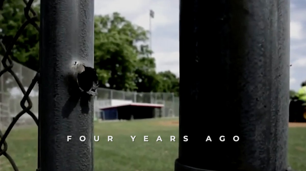 4 years ago police officers saved dozens of lives—including mine—from a leftist who came to the baseball field to kill Republican Members of Congress.  Without their heroism, we'd be dead.  God bless the officers who risk it all to keep us safe. We must never defund the police. https://t.co/Rf5vHmvVCz