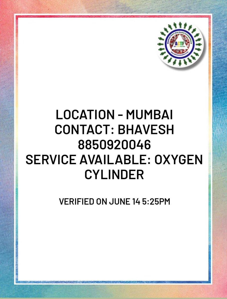 MUMBAI Resources.. #CovidResources #COVIDUpdates #oxygencylinders #oxygenbeds #covidSOS https://t.co/AW87SMv9hW