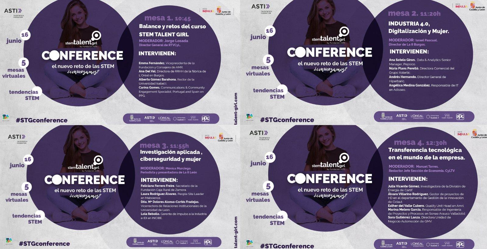 Mañana, no te pierdas la @StemTalentGirl Conference organizada por @AstiFoundation y @familiajcyl para seguir fomentando las vocaciones #STEM y en la que participará nuestra compañera Yolanda Vilches, Gerente de Calidad Operacional de GSK Aranda. #ConCienciaFemeninaGSK https://t.co/KAr7eA7DHC