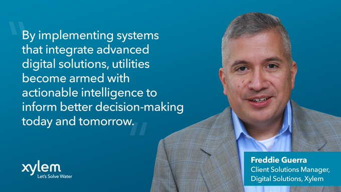 Recent extreme weather events have exposed vulnerabilities in our #watersystems. Going forward, how can utilities better weather the storm? Freddie Gu...