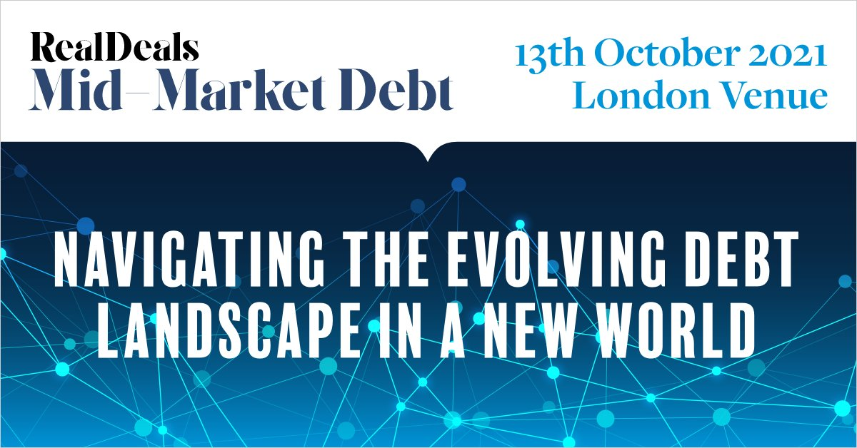 Real Deals Mid-Market Debt will be returning for its 8th year running as a physical event and taking place on 13th October 2021 in London: https://t.co/wizmD9AZ7Q #MidMarketDebt #PrivateEquity #capitalraising #midmarket #privatedebt #debt #event #events #conference #onsite https://t.co/RhsaP76qVf