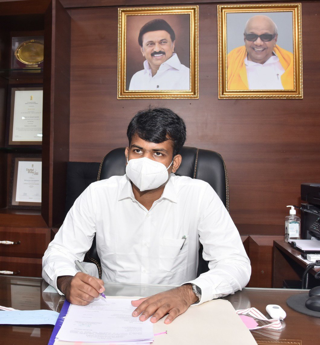 """Raja Gopal Sunkara on Twitter: """"Joined as Commissioner, #Coimbatore  Municipal Corporation. Started as a Municipality in 1866, now a bustling  urban conglomeration. Please follow the @CbeCorp for grievance redressal  and updates.… https://t.co/CUkR2c2Cc8"""""""