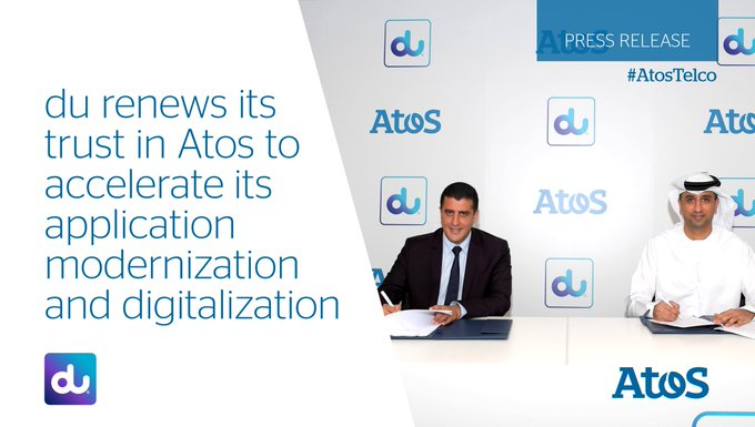 [#AtosTelco] @dutweets has renewed its contract with Atos to accelerate its digital objectives...