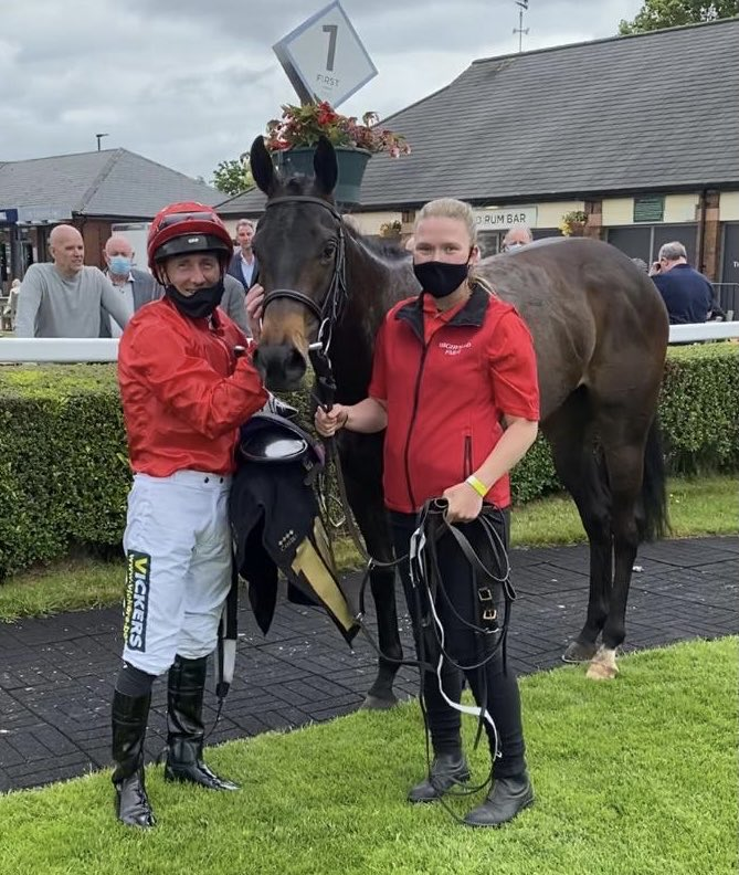 Riversway shows a great attitude to win first time of asking at Carlisle. Really well done to owner breeder David Armstrong. Great start